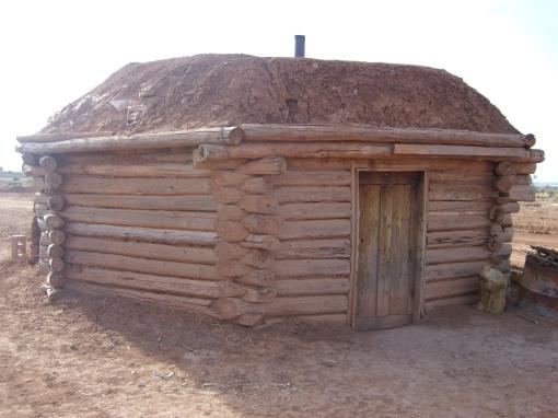 Traditional Navajo Hogaan