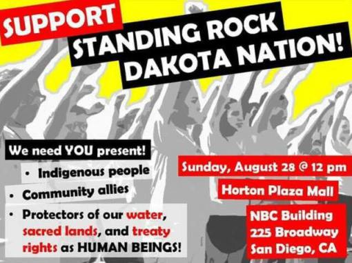support standing rock